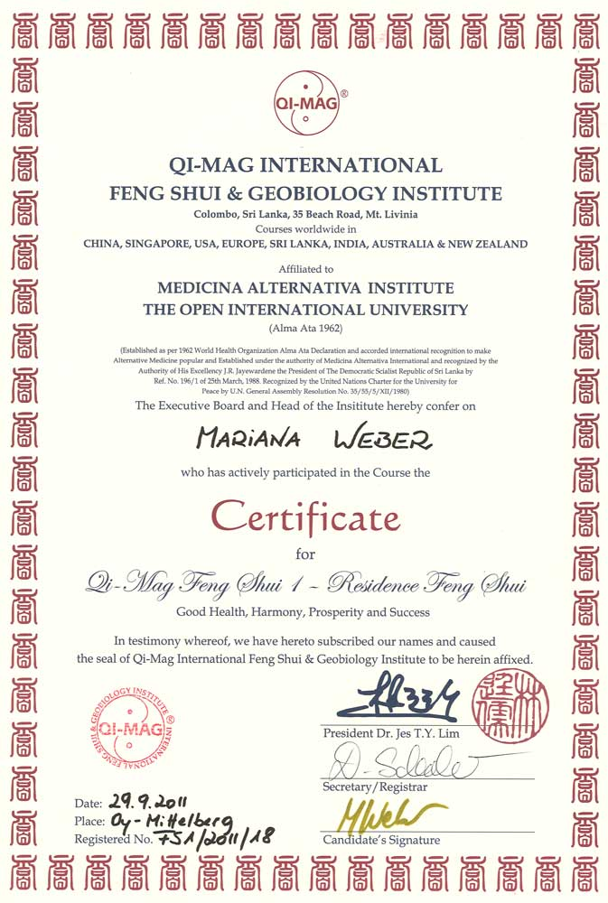 qi-mag international feng shui and geobiology institute